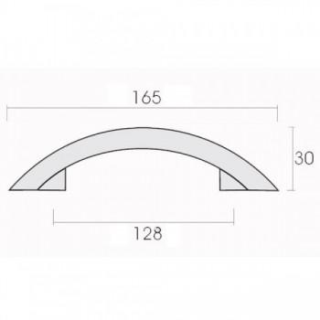 Conset C504-128 Σατέν Όρο Λαβή Επίπλου
