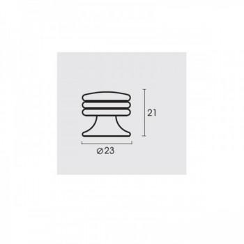 Conset C609-23 Ματ Νίκελ Πόμολο Επίπλου