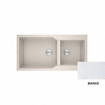 Sanitec Granite 803 Bianco Νεροχύτης 98 2B