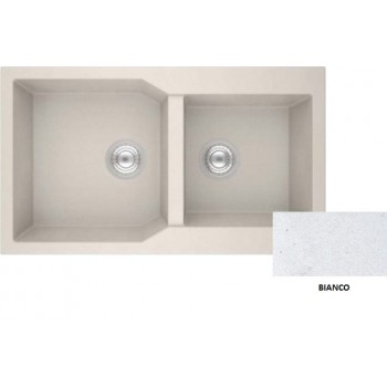 Sanitec Granite 804 Bianco Νεροχύτης 86 2B