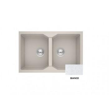 Sanitec Granite 806 Bianco Νεροχύτης 79 2B