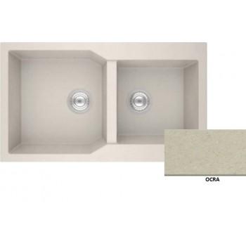 Sanitec Granite 804 Ocra Νεροχύτης 86 2B