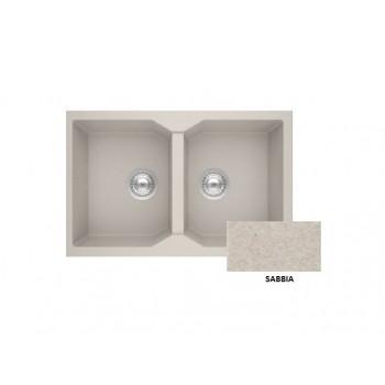 Sanitec Granite 806 Sabbia Νεροχύτης 79 2B