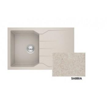 Sanitec Granite 807 Sabbia Νεροχύτης 79 1B 1D