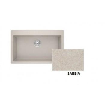 Sanitec Granite 808 Sabbia Νεροχύτης 79 1B