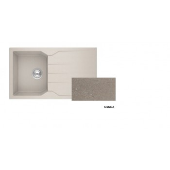 Sanitec Granite 805 Sienna Νεροχύτης 86 1B 1D