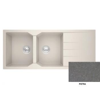 Sanitec Granite 800 Pietra Νεροχύτης 116 2B 1D