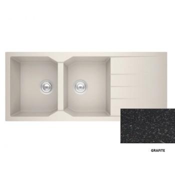 Sanitec Granite 800 Grafite Νεροχύτης 116 2B 1D