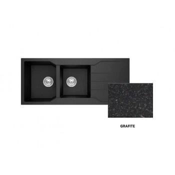 Sanitec Granite 801 Grafite Νεροχύτης 116 2B 1D