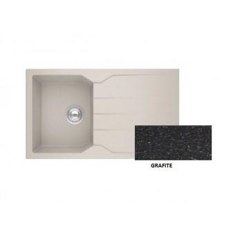 Sanitec Granite 805 Grafite Νεροχύτης 86 1B 1D