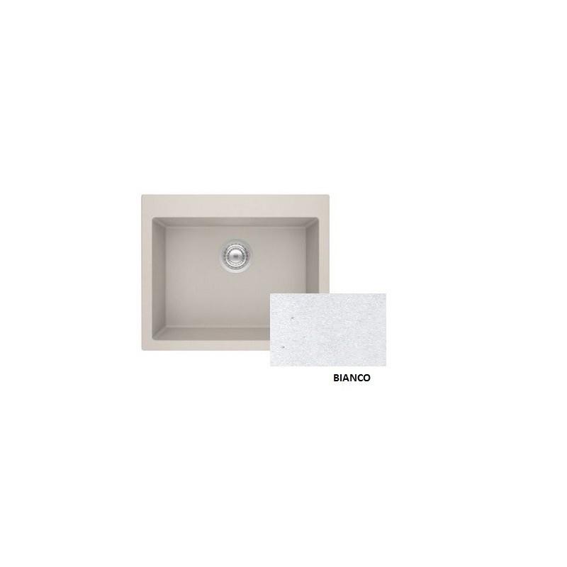 Sanitec Granite 809 Bianco Νεροχύτης 60 1B