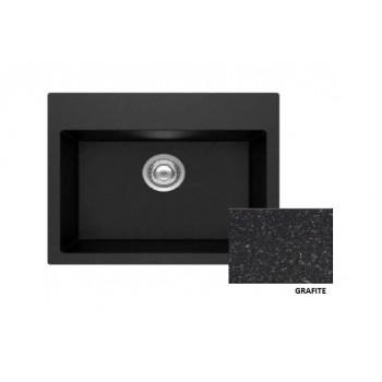 Sanitec Granite 809 Grafite Νεροχύτης 60 1B