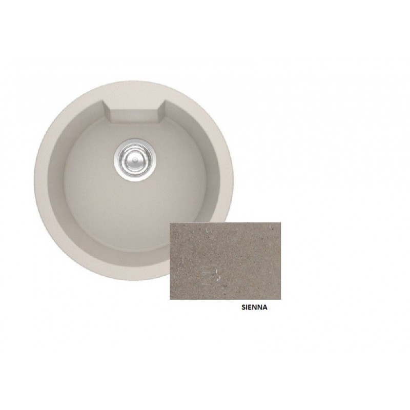 Sanitec Granite 810 Sienna Νεροχύτης 51 1B