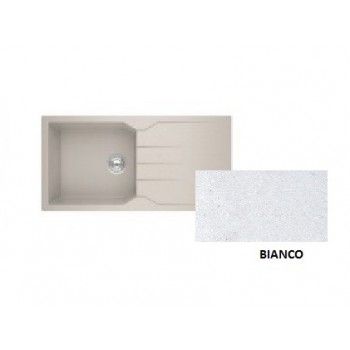 Sanitec Granite 811 Bianco Νεροχύτης 1B 1D