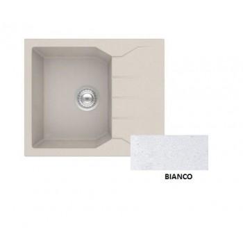 Sanitec Granite 812 Bianco Νεροχύτης 60 1B 1D