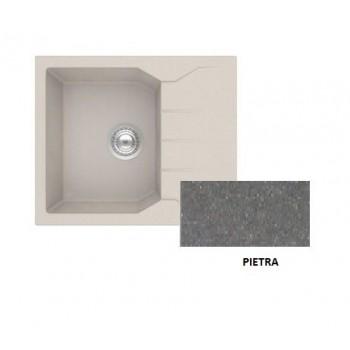 Sanitec Granite 812 Pietra Νεροχύτης 60 1B 1D