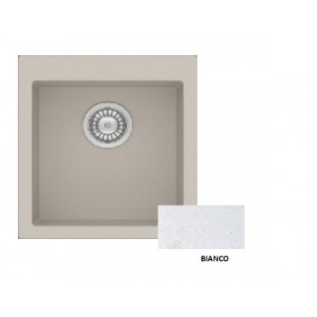 Sanitec Granite 813 Bianco Νεροχύτης 45 1B
