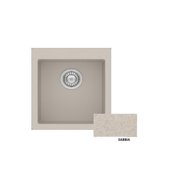 Sanitec Granite 813 Sabbia Νεροχύτης 45 1B