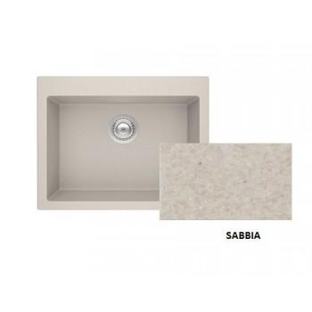 Sanitec Granite 815 Sabbia Νεροχύτης 70 1B