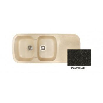 Sanitec Classic 300 Granite Black Νεροχύτης