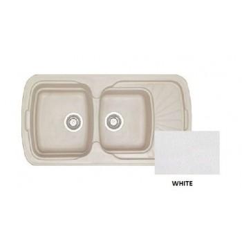 Sanitec Classic 304 White Νεροχύτης