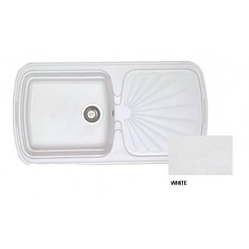 Sanitec Classic 306 White Νεροχύτης