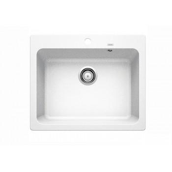 Blanco Naya 6 White SILGRANIT™ PuraDur™ Γρανιτένιος Νεροχύτης Ένθετος με 1 Γούρνα 61,5x51cm