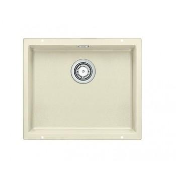 Blanco Subline-U 500-U Jasmine SILGRANIT™ PuraDur™ Γρανιτένιος Νεροχύτης Υποκαθήμενος με 1 Γούρνα 53x46 cm
