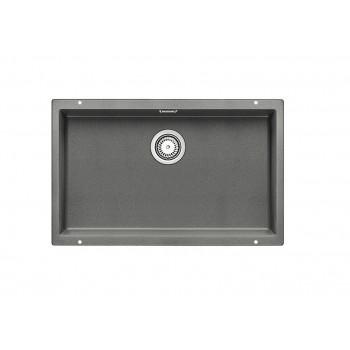 Blanco Subline-U 700-U Alu Metallic SILGRANIT™ PuraDur™ Γρανιτένιος Νεροχύτης Υποκαθήμενος με 1 Γούρνα 73x46 cm