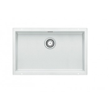 Blanco Subline-U 700-U White SILGRANIT™ PuraDur™ Γρανιτένιος Νεροχύτης Υποκαθήμενος με 1 Γούρνα 73x46 cm