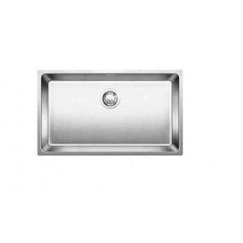 Blanco Andano-U 700-U Inox Λείος Νεροχύτης Υποκαθήμενος με 1 Γούρνα 74x44 cm