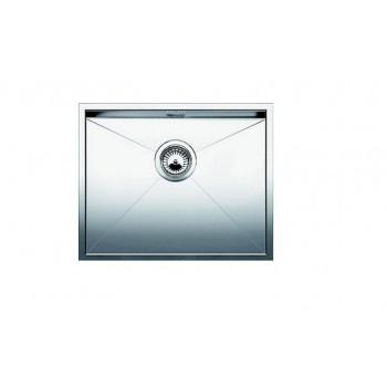 Blanco Zerox 550-U Inox Λείος Νεροχύτης Υποκαθήμενος με 1 Γούρνα 59x44 cm