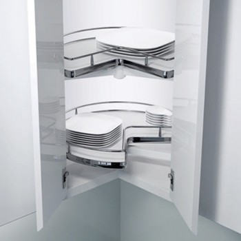 Μηχανισμός Κουζίνας Wheel Pro VS Περιστρεφόμενο Για Ερμάριο 80x80cm