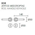 Πόμολο Πόρτας Conset C1255