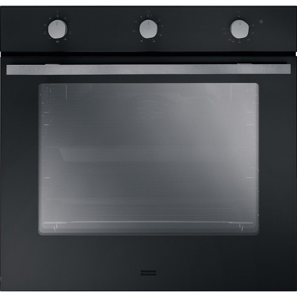 Franke MA 82 M BK/F Μαύρο Εντοιχιζόμενος Φούρνος
