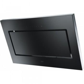 Franke Mythos Plus FMYPL 906 BK Inox - Μαύρο Κρύσταλλο Καμινάδα Τοίχου 90cm