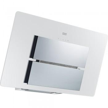 Franke New Maris Glass Λευκός / Inox Καμινάδα Τοίχου 90cm