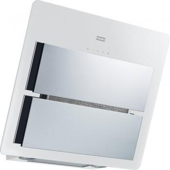 Franke New Maris Glass Λευκός / Inox Καμινάδα Τοίχου 60cm