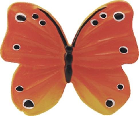 Conset C849-P06 Πεταλούδα Πορτοκαλί Πόμολο Επίπλου
