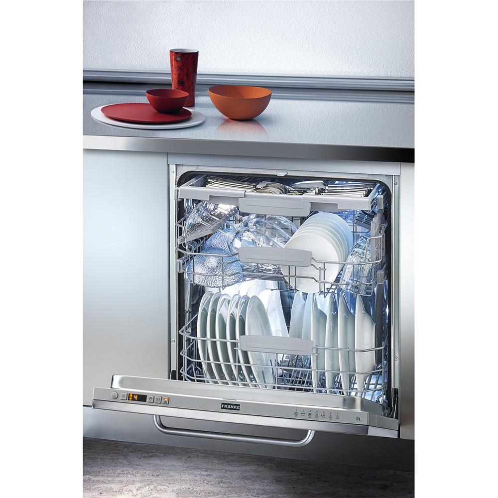 Franke FDW 614 D7P A++ Εντοιχιζόμενο Πλυντήριο Πιάτων 60cm
