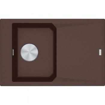Franke FX FXG 611-78 Dark Brown Γρανιτένιος Νεροχύτης