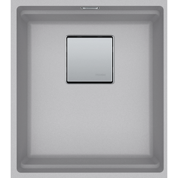 Franke Kubus 2 KNG 110-37 Metallic Platinum Υποκαθήμενος Γρανιτένιος Νεροχύτης