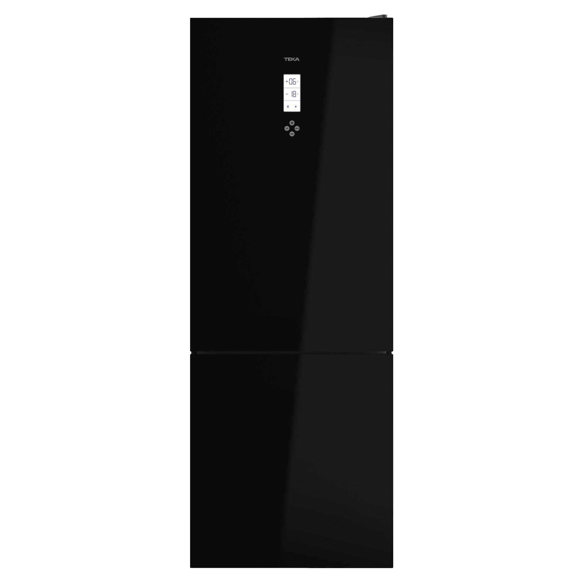Teka RBF 78720 GBL Ελεύθερος Ψυγειοκαταψύκτης  Black Crystal
