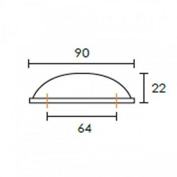 Πόμολο επίπλου Conset C1119
