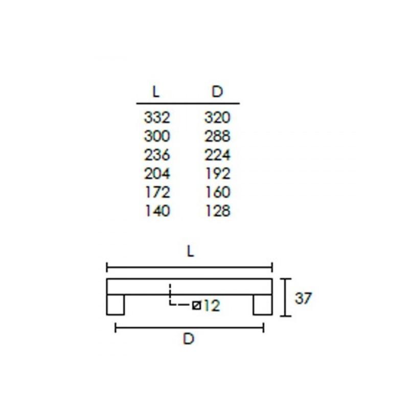 Πόμολο επίπλων Conset C1037