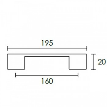 Πόμολο επίπλων Conset C1009