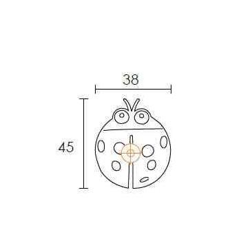 Πόμολο επίπλου Conset C849-P13