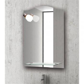 Karag 30302 Καθρέπτης Με Φωτιστικό Και Εταζέρα