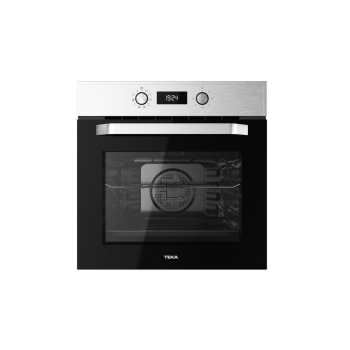 Teka Set 17.1.5.1 ΗCB 6545 Inox Εντοιχιζόμενος Φούρνος + ΤZ 6415 Κεραμικό Πλατώ Εστιών 60cm