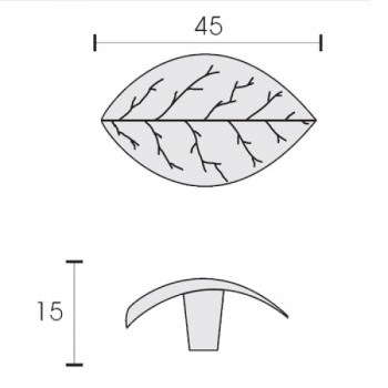 Πομολάκι/ Λαβή επίπλου Conset C829